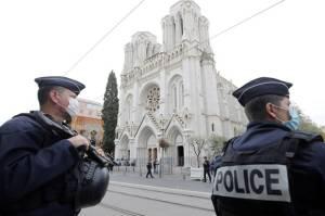 Buntut Serangan Pisau, Prancis Berstatus Siaga Tingkat Tinggi