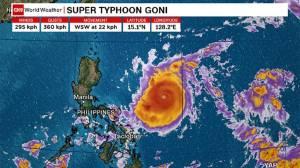 Badai Terbesar di Dunia Tahun Ini Segera Terjang Filipina