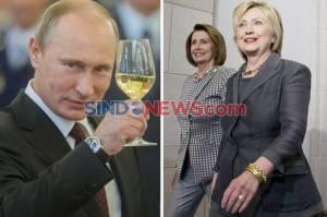 Tanpa Bukti, Hillary dan Pelosi Tuding Putin Dalang Penyerbuan Capitol