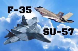 Satu Lawan Satu, Su-57 Rusia Akan dengan Mudah Bunuh F-35 AS