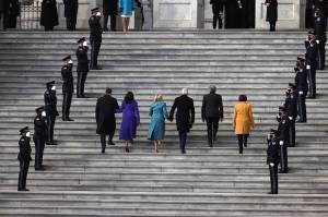 Biden dan Harris Baru Saja Tiba di US Capitol untuk Pelantikan