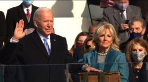 Biden Gunakan Alkitab Milik Keluarganya saat Sumpah Presiden