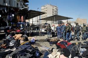 ISIS Klaim Bom Bunuh Diri Kembar Baghdad, Korban Tewas 32 Orang