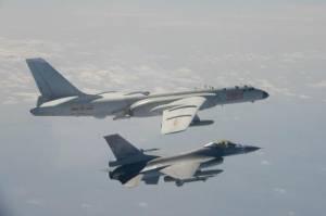 Delapan Pesawat Pembom dan 4 Jet Tempur China Terobos Wilayah Taiwan