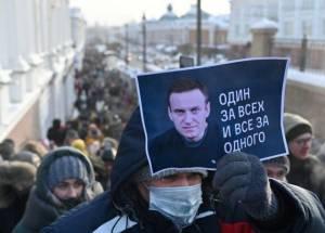 Polisi Tahan Lebih dari 1000 Demonstran Pendukung Navalny