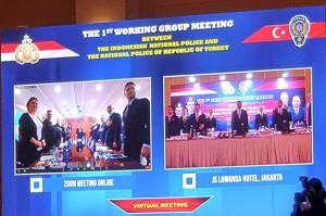 Kepolisian Indonesia dan Turki Sepakat Perkuat Kapasitas Bersama