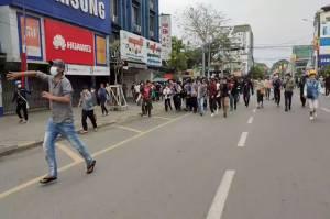Militer Myanmar Kembali Lepaskan Tembakan ke Arah Demonstran, 2 Tewas
