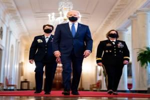 Biden Tunjuk 2 Wanita Jadi Jenderal, Lawan Serangan Seks di Militer AS