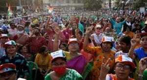 Empat Orang Ditembak Mati Pasukan India dalam Kerusuhan Terkait Pemilu