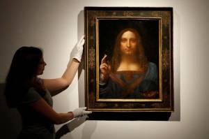 Lukisan bergambar Yesus Kristus ini pula yang jadi pemicu keretakan diplomatik Arab Saudi dan Prancis.