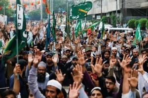 Kerap Berbuat Anarki, Pakistan Larang Partai Islam Garis Keras TLP