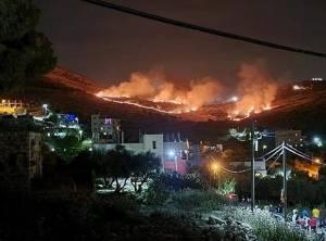 Pemukim Israel Membakar Lahan Pertanian Palestina di Nablus