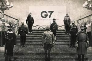 Satir, Seniman China Ubah Foto Bersama Menlu G7