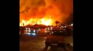 Kebakaran Besar Melanda Barat Daya Iran, Penyebabnya Masih Misterius