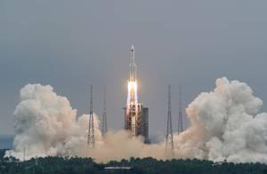 China Sebut Sebagian Besar Puing Roket Hancur di Atmosfer