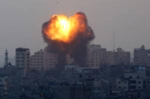 Dibom Jet Tempur Israel, 6 Orang Sekeluarga Tewas di Gaza Termasuk Ibu Hamil