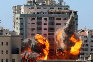 AS Protes pada Israel Soal Serangan ke Gedung Media di Gaza