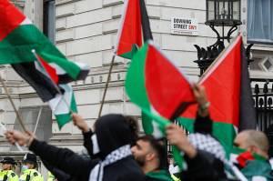 Anggota Parlemen Inggris Sebut Demonstran Pro-Palestina Manusia Primitif