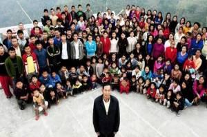Ziona Chana Meninggal, Tinggalkan 38 Istri, 89 Anak dan 33 Cucu