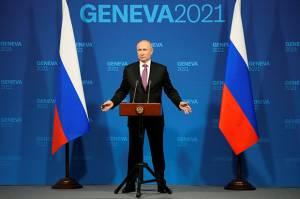 Putin: AS Bukan Contoh Baik Soal Penghormatan Terhadap HAM