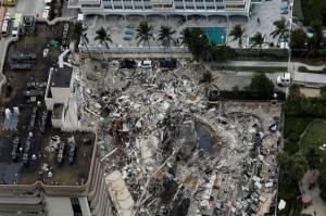 Tragedi Gedung Runtuh AS, 99 Orang Hilang: Seperti Ada Bom Meledak