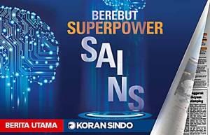 Berebut Superpower Sains