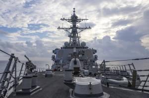 China Jengkel Kapal Perang AS Masuk Selat Taiwan untuk Ke-7 Kalinya