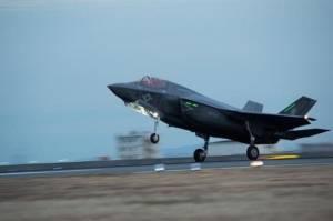 Dua Jet Tempur Siluman F-35B AS Rusak Disambar Petir di Jepang