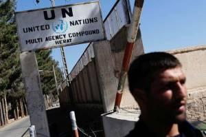 Kompleks PBB di Afghanistan Barat Diserang, Satu Penjaga Tewas