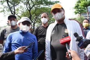 Airlangga Hartarto dan Cak Imin Olahraga Bareng di SCBD, Pertanda Koalisi 2024?