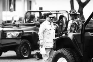 Menhan Prabowo Nostalgia saat Kunjungi Pusdikpassus di Batujajar Bandung