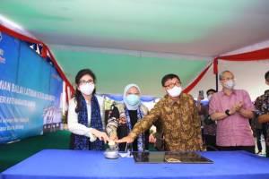 Dukung Pembangunan SDM Kompeten di Minahasa Utara, Menaker Ida Resmikan BLK Komunitas