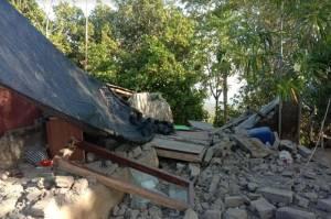 243 Rumah Warga Karangasem Bali Rusak Berat Akibat Gempa M4,8