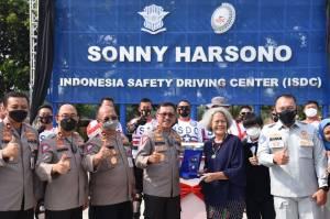 Diresmikan Kepala Korlantas Polri, Lapangan ISDC Berganti Nama Jadi Sonny Harsono