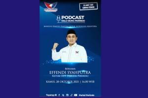 Hari Sumpah Pemuda, Partai Perindo Gelar Podcast Halo Bung Perindo, Cek Medsos Partai Perindo Pukul 16.00!