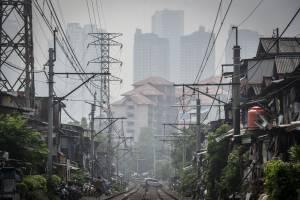 Tingkat Kualitas Udara di Jakarta Masuk Kategori Tidak Sehat