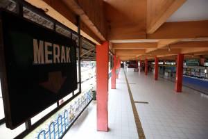 Ditutup Sementara, Begini Suasana Terminal Kampung Rambutan di Masa Larangan Mudik