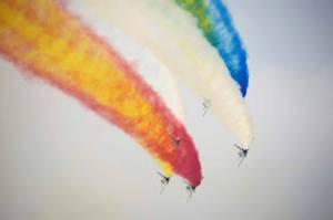 Spektakuler, Begini Pertunjukkan Airshow China di Zhuhai