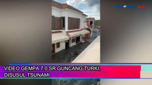 Video Gempa 7.0 SR Guncang Turki, Disusul Tsunami