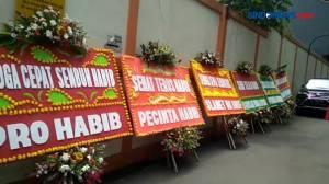 RS Ummi Bogor Dibanjiri Karangan Bunga untuk Habib Rizieq Shihab