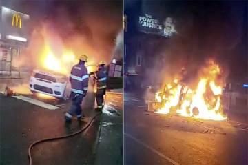 Polisi Tembak Mati Pria Kulit Hitam Bersenjata Pisau, Kerusuhan Pecah di Philadelphia