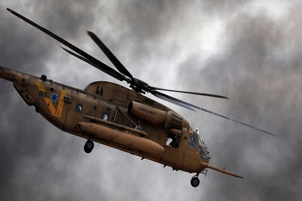 Helikopter Israel Gempur Suriah dengan Serangan Rudal