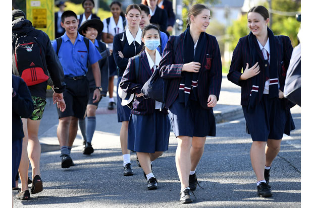 Kasus Corona Menurun, Australia Buka Kembali Aktivitas Belajar Mengajar