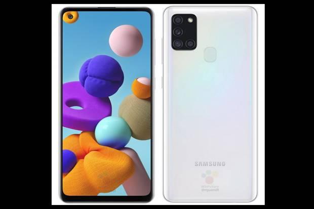 Bocoran Lengkap Spesifikasi Samsung Galaxy A21s dan Harganya
