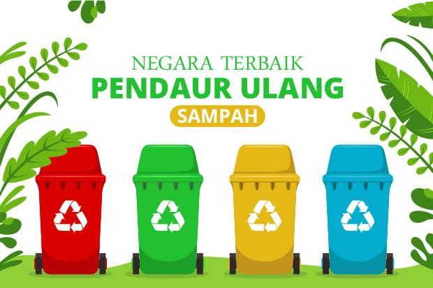 Inilah 10 Negara Terbaik Pendaur Ulang Sampah