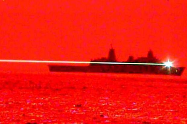 AS Sukses Uji Coba Senjata Laser, Hancurkan Pesawat Drone
