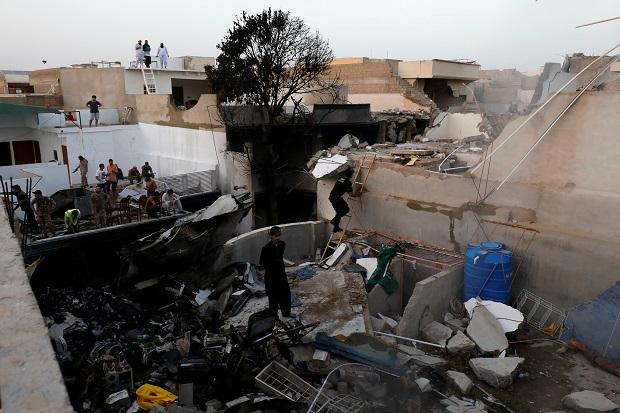 Airbus Mulai Selidiki Kecelakaan Pesawat di Pakistan