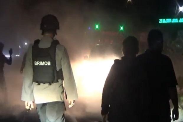 Protes 8 Warganya Ditangkap, Jalinsum Lumpuh 3 Jam Akibat Diblokade Massa