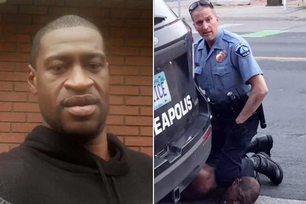 Polisi yang Mencekik George Floyd Hingga Meninggal Ditangkap