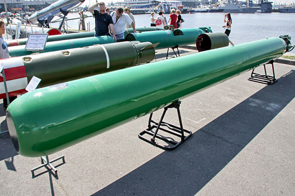 Futlyar, Torpedo Penegas Kekuatan Maritim Rusia